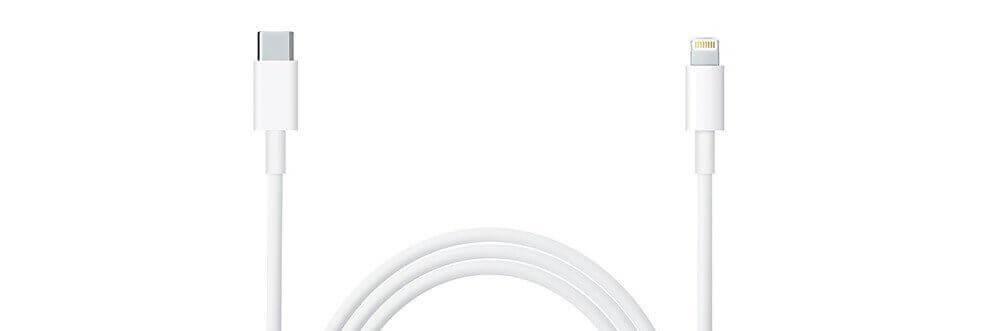 Das Original Kabel von Apple gibt es hier auf Amazon deutlich unter dem Preis, den man im Apple Store zahlen würde. Dafür fehlt laut Kundenbericht die edle Kartonverpackung, die man von Apple gewohnt ist (Foto: Amazon).