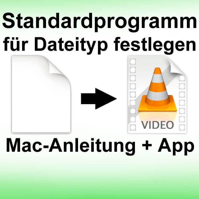 Assign file types to an app, Apple Mac, iMac, MacBook