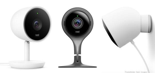 Die Nest Cam Modelle sind moderne Überwachungskameras mit WLAN, Mikrofon und Lautsprecher. Damit ist die Überwachung von Haus und Hof per App mit Smartphone, Tablet und Smartwatch überall möglich. Details und ein Link zum Überwachungskamera-Test in diesem Beitrag!