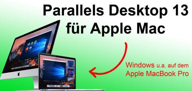 Parallels Desktop 13 für Mac steht ab heute zum Download bzw. als Upgrade bereit. Damit kann Windows auch über die Touch Bar des Apple MacBook Pro angesteuert werden.