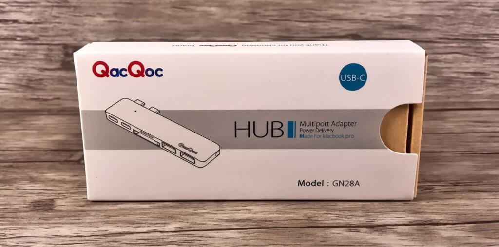 Packshot des USB-C Multiport-Hubs von QacQoc (Fotos: Sir Apfelot).
