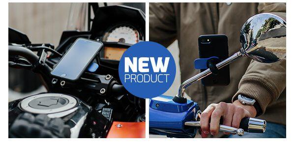 Neu auf dem Markt ist die Quad Lock iPhone-Halterung für Motorrad und Roller. Wer das Smartphone als Motorrad-Navi nutzen will, kann dies damit tun.
