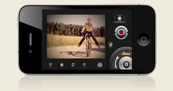 Das Userinterface der 8mm App ist auf dem iPhone intuitiv und macht so auch zwischendurch mal Shabby-Chic-Aufnahmen möglich!