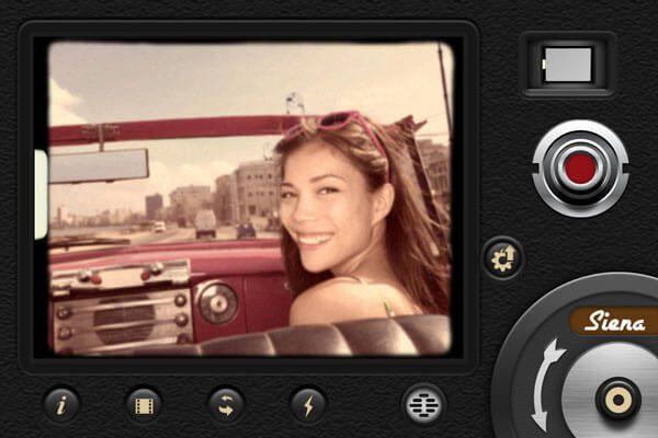 """Eigene Filme wie zu Uromas Zeiten: mit der iOS App """"8mm Vintage Camera"""" kein Problem."""
