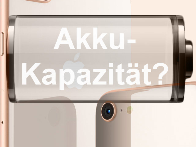 iPhone8 mAh, Apple 8 Plus Akkukapazität, Ladung, Batterie