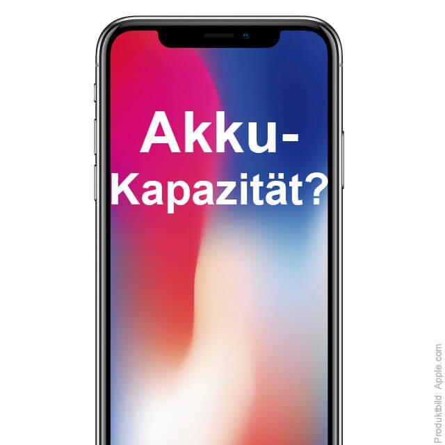 iphone x mah