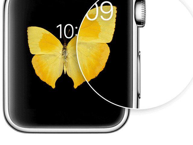 Bildschirm von Smartwatch als Bild speichern