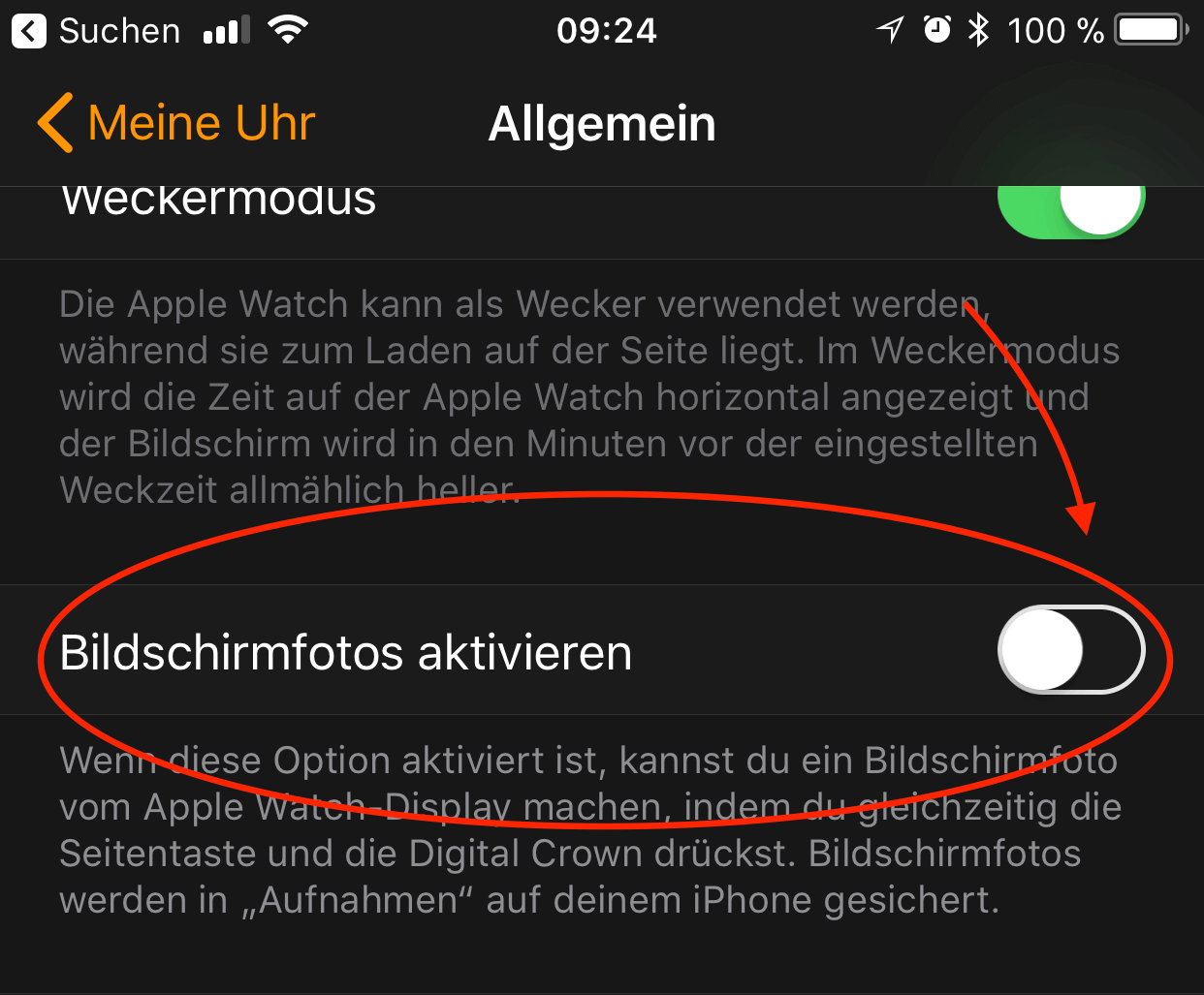Watchos Tipp Screenshot An Der Apple Watch Erstellen