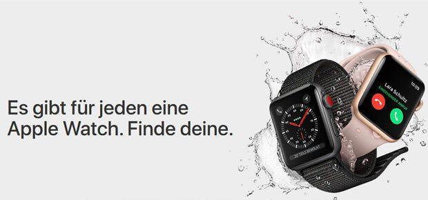 Screenshot aus dem Apple Onlineshop - alle neuen Geräte sowie deren technische Daten könnt ihr bereits einsehen.