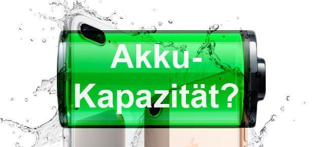 Wie viel mAh haben iPhone 8 und iPhone 8 Plus? Hier findet ihr die Akku-Ladungen der neuen Apple-Smartphones! (Hintergrundgrafik: Apple.com)