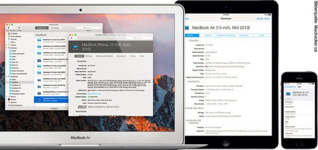 In der Mactracker App für Mac und iOS-Geräte wie iPhone und iPad könnt ihr eine Art Lexikon zu allen bisherigen Apple-Geräten aufrufen und Details zu Hardware, Software und Support abfragen. Eine eigene Geräteliste ist auch möglich.