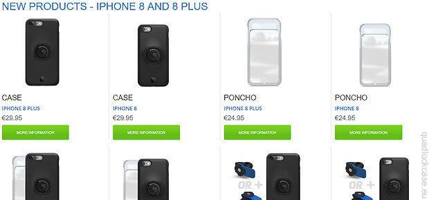 Die neuen Quad Lock Hüllen für die aktuellen Apple-Smartphones sind da. Ältere Versionen passen aber auch ;)