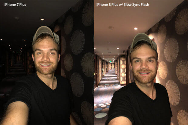 Austin Mann zeigt die Auswirkungen des Slow Sync Verschlusses, der zu mehr Lichtdetails und einer natürlicheren Licht-Komposition im Bild führt.