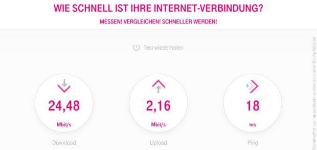 Wie schnell ist mein Internet? - Der DSL Speedtest der Telekom funktioniert auch mit einem Glasfaser-Anschluss von Kabel Deutschland. Hier im Ratgeber findet ihr Tools zum Messen von Download, Upload und Ping.