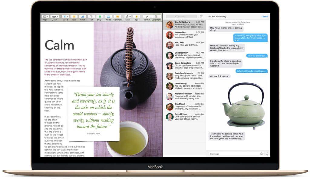 Die Split View Funktion, mit der man zwei Apps nebeneinander legen kann, gibt es schon seit El Capitan. Neu ist in High Sierra aber, dass man innerhalb von Apple Mail eine Split-View-Ansicht erhält, wenn man eine neue Mail schreibt.