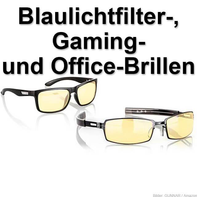 Blaulicht Filter Brillengläser