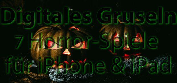 Die folgenden 7 Horror-Spiele für iOS auf dem Apple iPhone oder iPad bringen euch (un)sicher durch den gruseligsten Tag des Jahres ;)