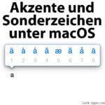 Mac-Tipp: Drücken und Halten für Akzente / Akzentbuchstaben