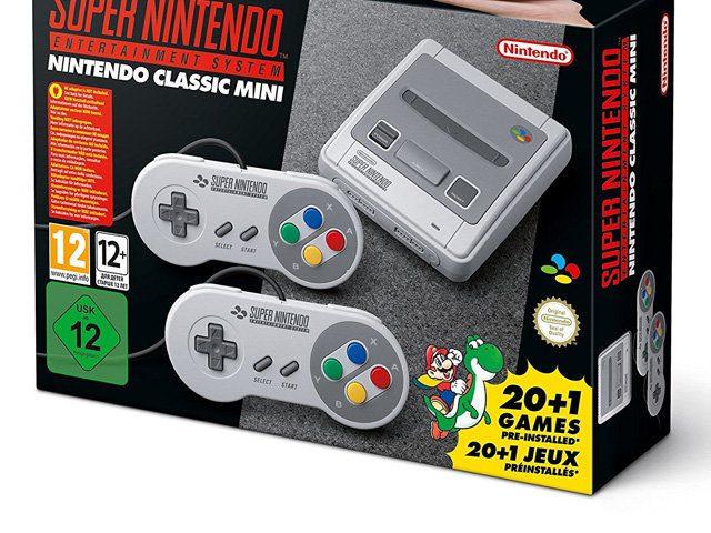 SNES Mini Konsole bestellen, gebraucht kaufen, günstig, billig, Retro-Spiele, 21 Games, Liste