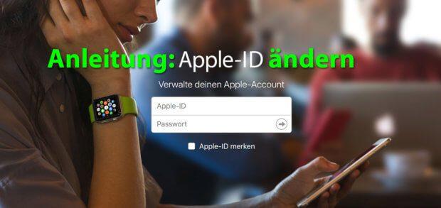 Anleitung: E-Mail-Adresse der Apple-ID ändern - Hier findet ihr Schritt für Schritt Möglichkeiten, die Daten zu ändern, auch mit @icloud.com, @me.com oder @mac.com Adressen!