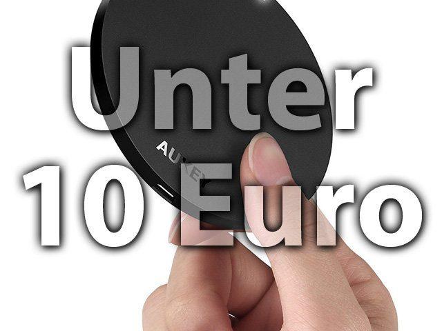 Günstige Qi Ladestation für iPhone unter 10 Euro, Aktion, Deal, Rabatt, Gutscheine, billiger