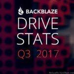 Statistik zu den besten Festplatten von Backblaze Q3/2017