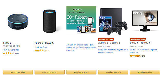 Amazon Cyber Monday Woche Inkl Black Friday Weekend