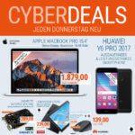 Apple MacBook Pro 15,4″ unter 2.000€ und weitere Cyberdeals