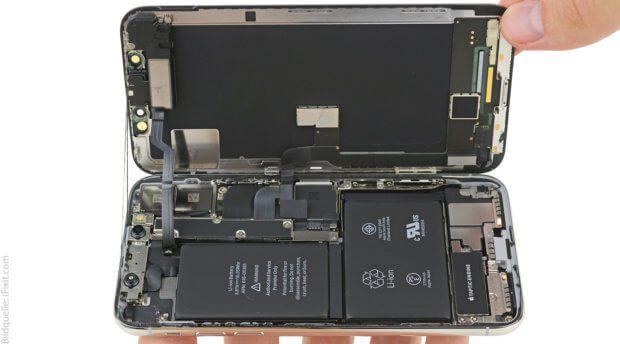 Das neue Apple Smartphone-Flaggschiff reparieren? Das geht mit einer Machbarkeitseinschätzung von 6 aus 10 möglichen Punkten von iFixit.