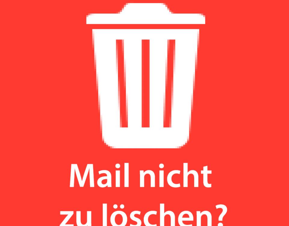 Lösung: Hier zeige ich euch, wie man eine Mail aus dem Postausgang am iPhone bekommt, wenn diese feststeckt und sich nicht versenden und auch nicht löschen läßt.