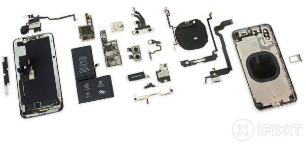 Der iPhone X Teardown von iFixit zeigt, was in dem Apple Smartphone an Hardware steckt.