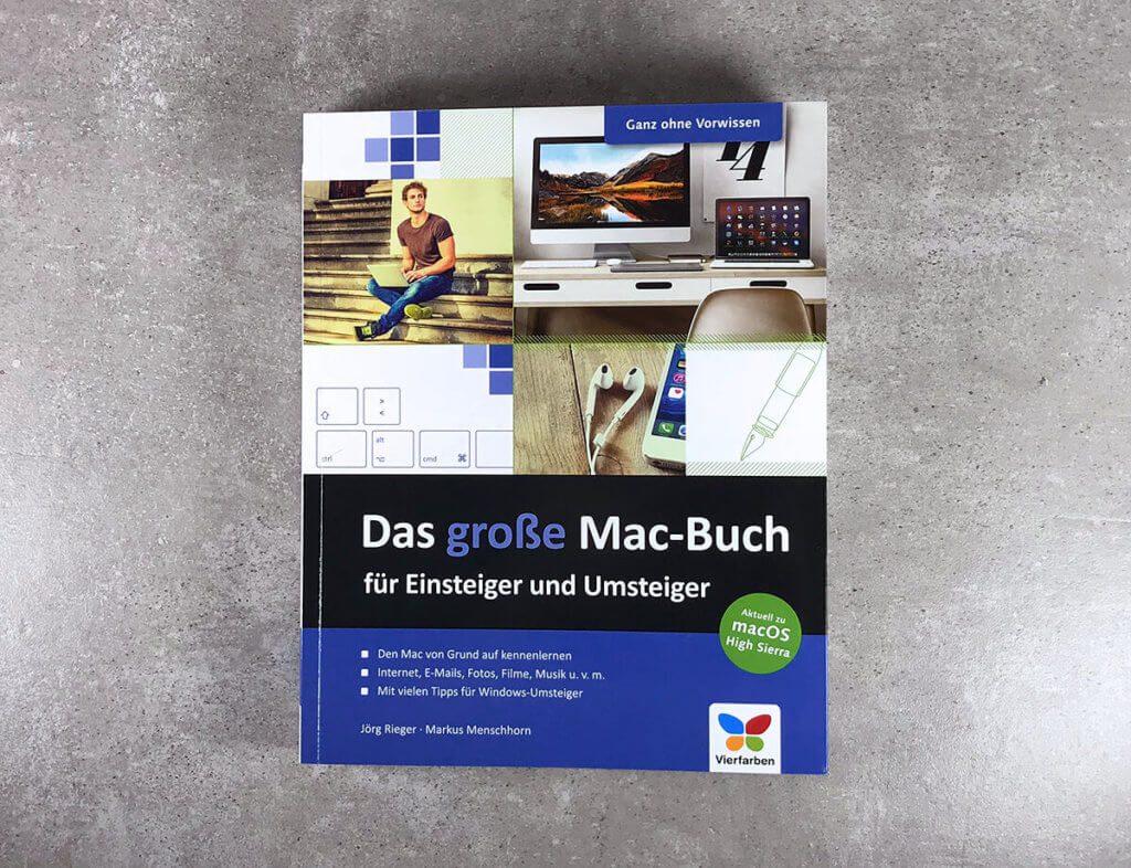 Das Grundlagenwerk für Mac-Einsteiger ist nicht nur von der Umschlaggestaltung ansprechend gemacht, sondern auch innen schön und übersichtlich aufgebaut.