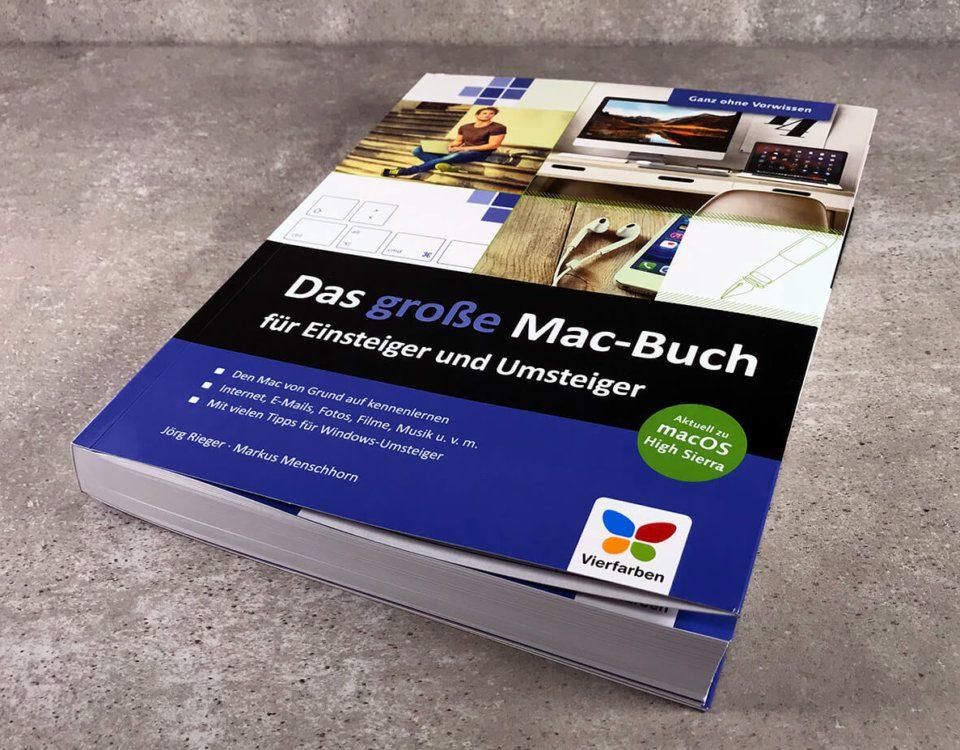 """Das """"große Mac-Buch"""" ist wirklich für Einsteiger geeignet und erklärt auch Basics wie die Verwendung von Gesten auf dem Trackpad oder auf der Magic Maus (Fotos von Sir Apfelot mit freundlicher Genehmigung des Verlags)."""