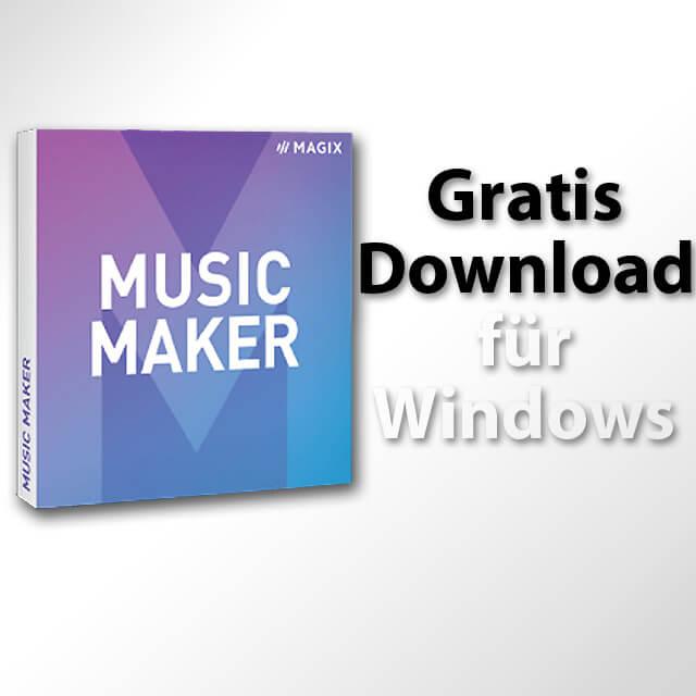 Music Maker Gratis Download, kostenlose Downloads Musik machen Software App Windows Mac