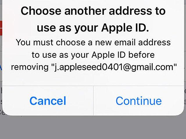 Apple ID wechseln, umändern, mit anderer Adresse nutzen