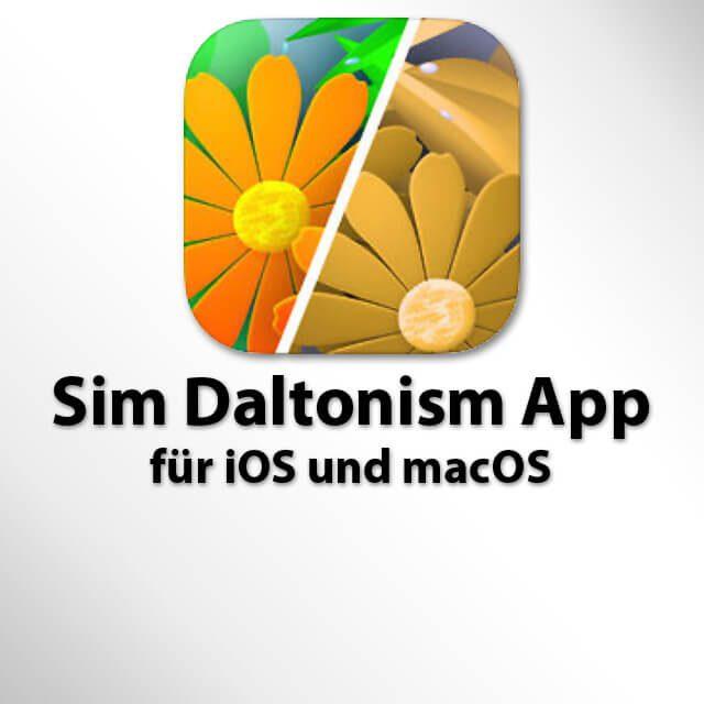 Farbenblindheit simulieren, Farbblindheit Simulation, Handykamera, Computer Software, App, Programm, Download Daltonismus