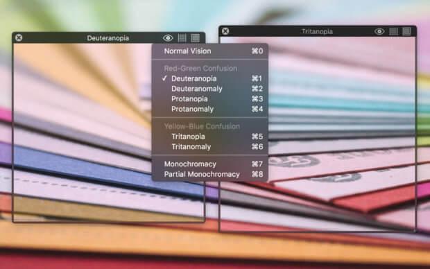 Auch auf Apple Mac, iMac und MacBook mit macOS ist die Sim Daltonism App nutzbar. Den Download für die Simulations-Software findet ihr nach dem nächsten Absatz. Bild: Mac App Store