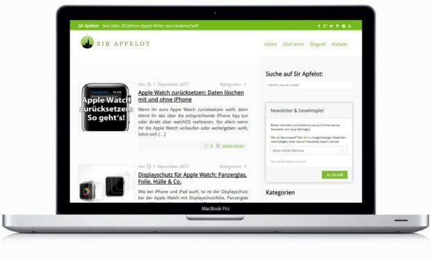 Werben auf Sir-Apfelot.de: Werden sie Sponsor und platzieren Sie Ihr Unternehmen, Ihr Produkt oder Ihre Dienstleistung mit Link zur Ihrer Seite an prominenter Stelle!