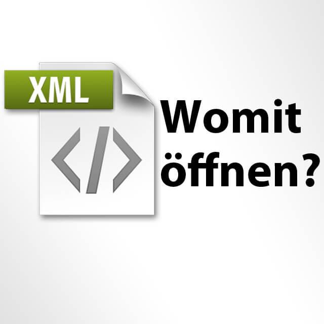 Frage: Womit eine XML-Datei öffnen am Mac - Antworten und macOS Apps, Viewer, Download