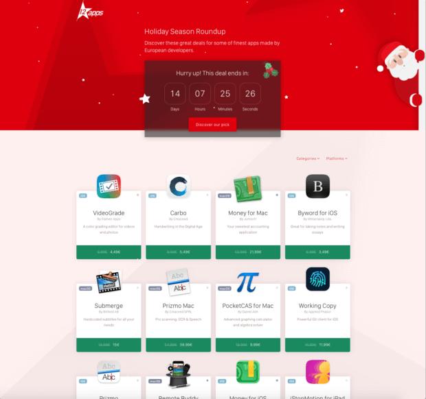 12★apps oder auch 12 Star Apps steht für eine Plattform, die euch nicht nur iOS- und macOS-Software günstiger anbietet, sondern auch auf App-Developer aus der EU aufmerksam macht!