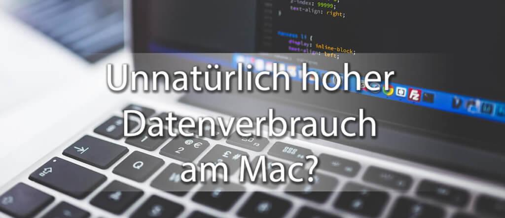 Euer Mac schlürft das mobile Datenvolumen weg wie Glühwein? Dann ist es Zeit zu forschen, wer da im Hintergrund zuviele Daten saugt!