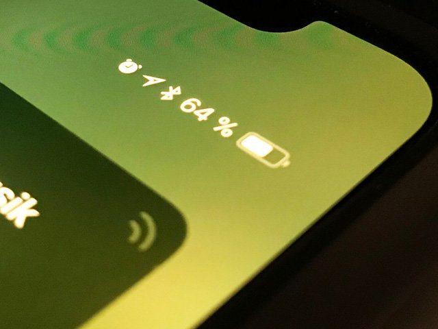 iOS 11 Batterieanzeige