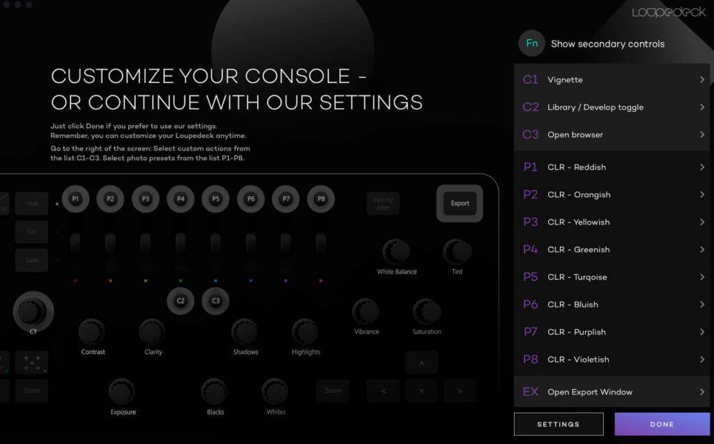 Über den Konfigurations-Assistenten lassen sich etliche Tasten und Regler individuell mit Funktionen belegen.