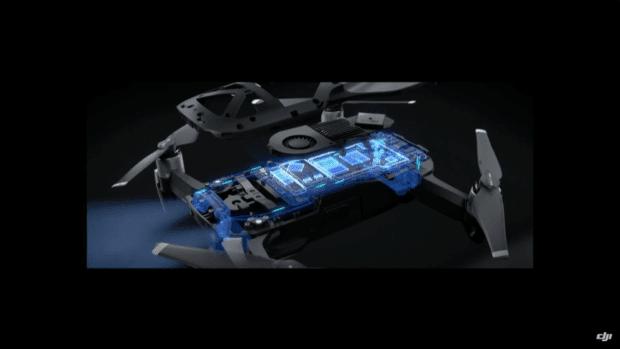 Sieben Kameras, zahlreiche On-Board-Features, Antennen in den Landefüßen, 8GB interner Speicher und ein neues Kühlsystem sowie viel mehr stecken in der Kamera-Drohne.