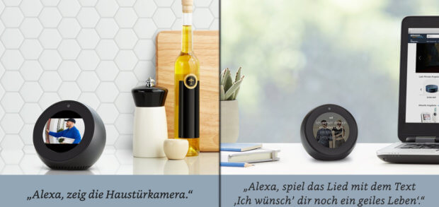 amazon echo spot technische daten hinweise test und. Black Bedroom Furniture Sets. Home Design Ideas