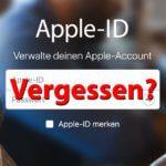 Hilfe: iCloud-Passwort oder Apple-ID Passwort vergessen?