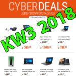 Cyberport Cyberdeals KW 3 2018: Apple MacBook Pro, iPad Pro und weitere Technik-Angebote