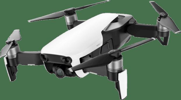 DJI Mavic Air: Technische Daten vom Datenblatt der Mini-Drohne mit 4K Video-Kamera, High-End-Technologie und 3-Achsen-Gimbal gibt es hier.