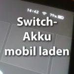 Nintendo Switch Akku leer: Akkuhüllen und Powerbanks lösen das Problem!
