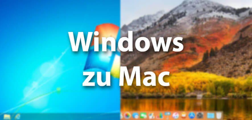 Vom Windows-System zum Mac-Betriebssystem – so findet man die passenden Worte unter macOS.